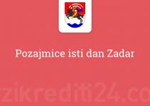 Pozajmice isti dan Zadar