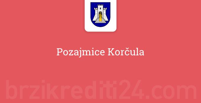 Pozajmice Korčula