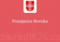 Pozajmice Novska