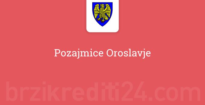 Pozajmice Oroslavje