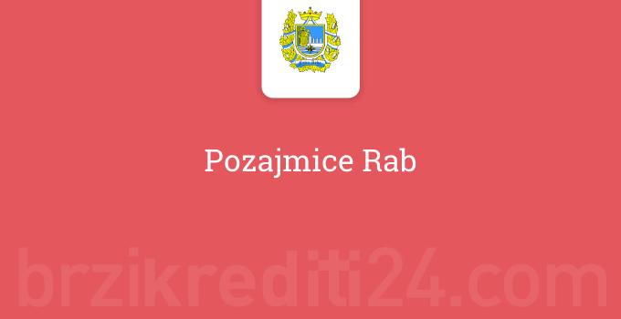 Pozajmice Rab