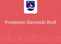 Pozajmice Slavonski Brod