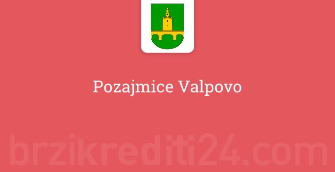 Pozajmice Valpovo