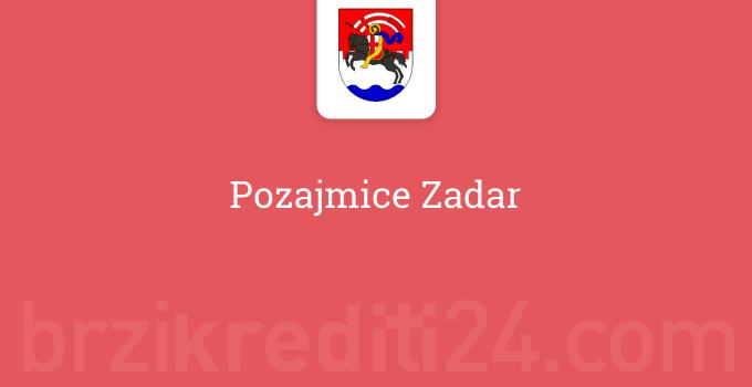 Pozajmice Zadar