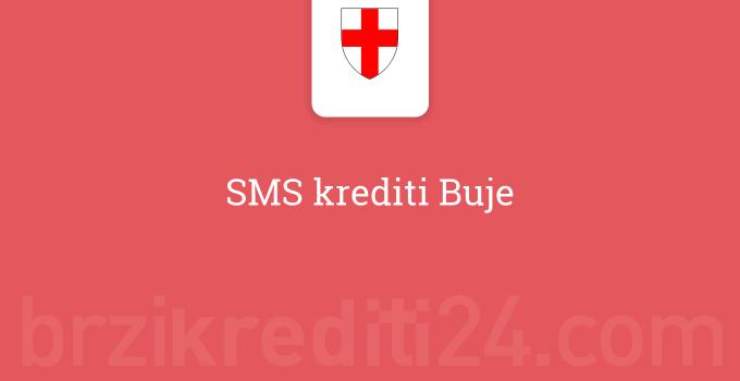 SMS krediti Buje