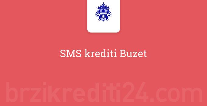 SMS krediti Buzet