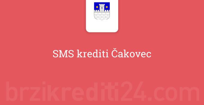 SMS krediti Čakovec