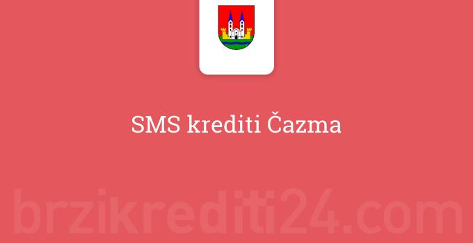 SMS krediti Čazma