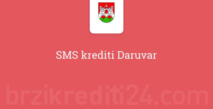 SMS krediti Daruvar