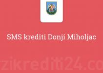 SMS krediti Donji Miholjac