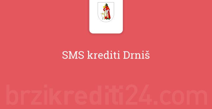 SMS krediti Drniš