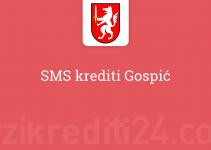 SMS krediti Gospić