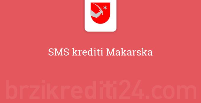 SMS krediti Makarska