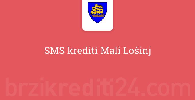 SMS krediti Mali Lošinj
