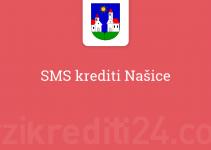 SMS krediti Našice