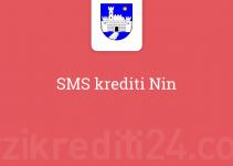 SMS krediti Nin