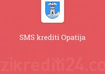 SMS krediti Opatija