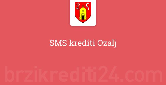 SMS krediti Ozalj