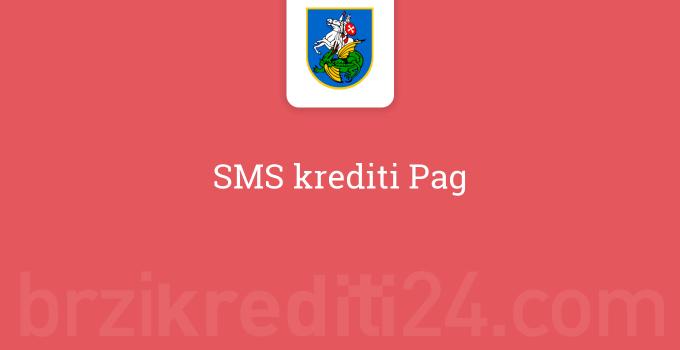 SMS krediti Pag