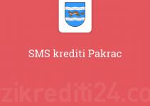 SMS krediti Pakrac