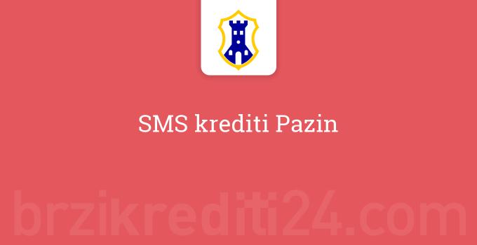 SMS krediti Pazin