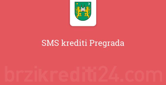 SMS krediti Pregrada