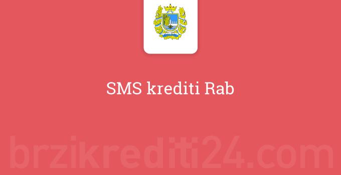SMS krediti Rab