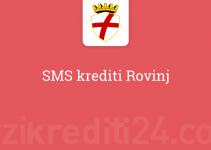 SMS krediti Rovinj