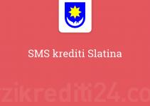 SMS krediti Slatina