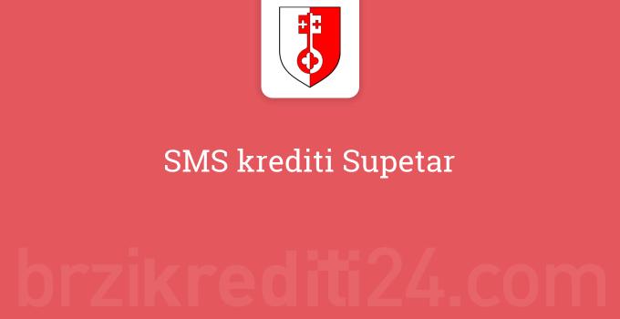 SMS krediti Supetar