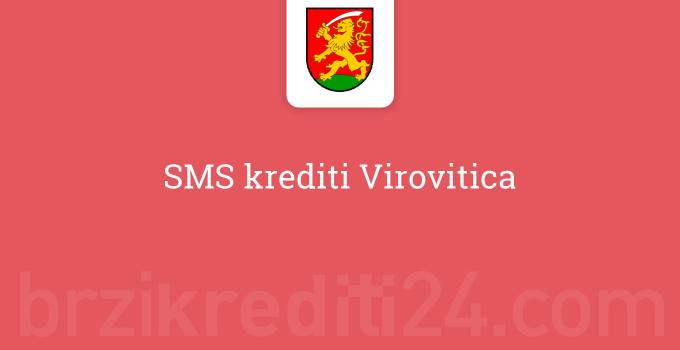 SMS krediti Virovitica
