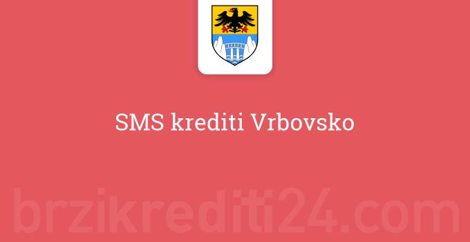 SMS krediti Vrbovsko