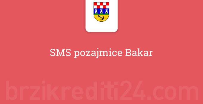 SMS pozajmice Bakar