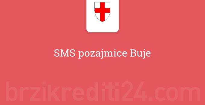 SMS pozajmice Buje