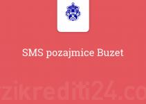 SMS pozajmice Buzet