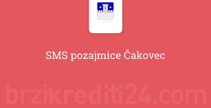 SMS pozajmice Čakovec