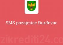 SMS pozajmice Đurđevac