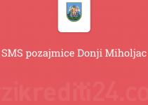 SMS pozajmice Donji Miholjac