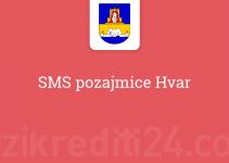 SMS pozajmice Hvar