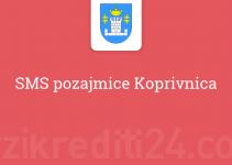 SMS pozajmice Koprivnica