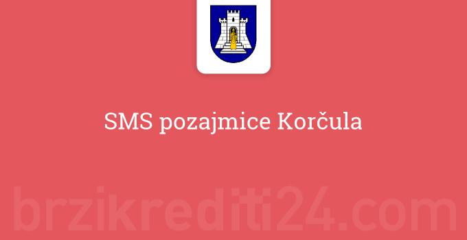 SMS pozajmice Korčula