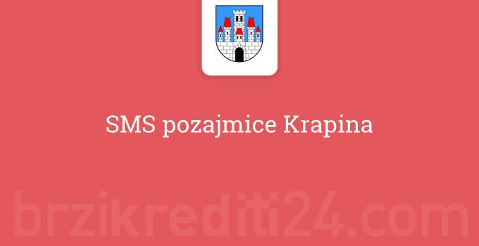 SMS pozajmice Krapina