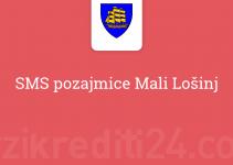 SMS pozajmice Mali Lošinj