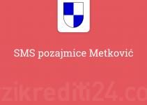 SMS pozajmice Metković