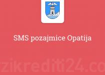 SMS pozajmice Opatija