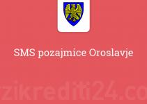 SMS pozajmice Oroslavje