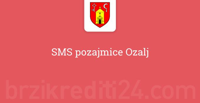 SMS pozajmice Ozalj