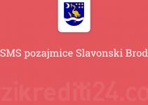 SMS pozajmice Slavonski Brod