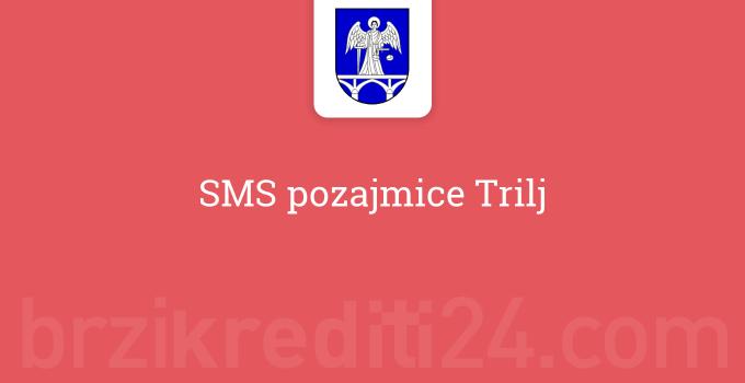 SMS pozajmice Trilj