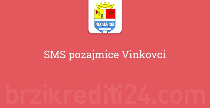 SMS pozajmice Vinkovci